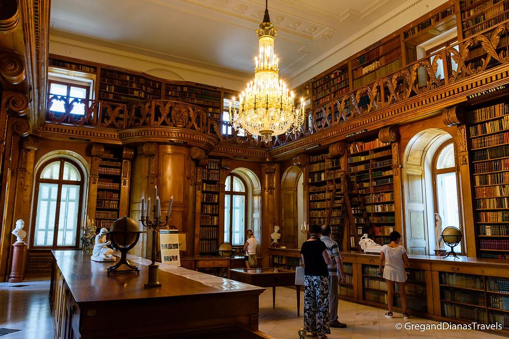 Helikon Library, Festetics Castle, Festetics Kastély, Keszthely Hungary, Travel blog, Travel blogger, Travel photography