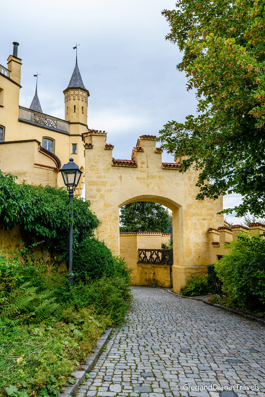 Hochenschwangau Castle, Bavaria Germany, Travel blog, Travel photography