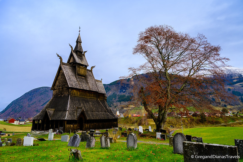Hopperstad Stave Church, Traditional Norwegian architecture, Norwegian landscape, Norway in autumn, Norway travel blog
