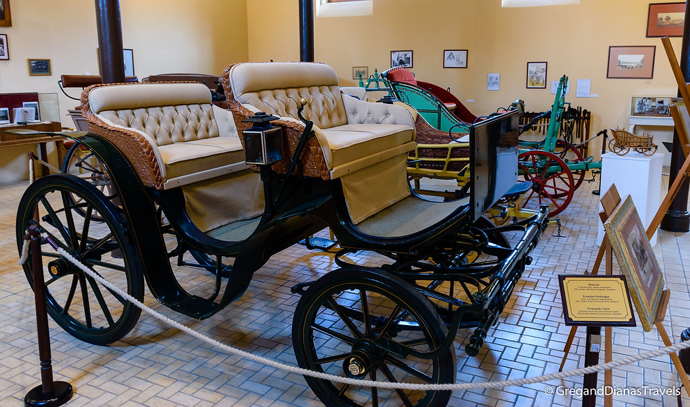 Promenade Coach from 1910, Coach Museum, Festetics Castle, Keszthely Hungary, Travel blog, Travel blogger, Travel photography