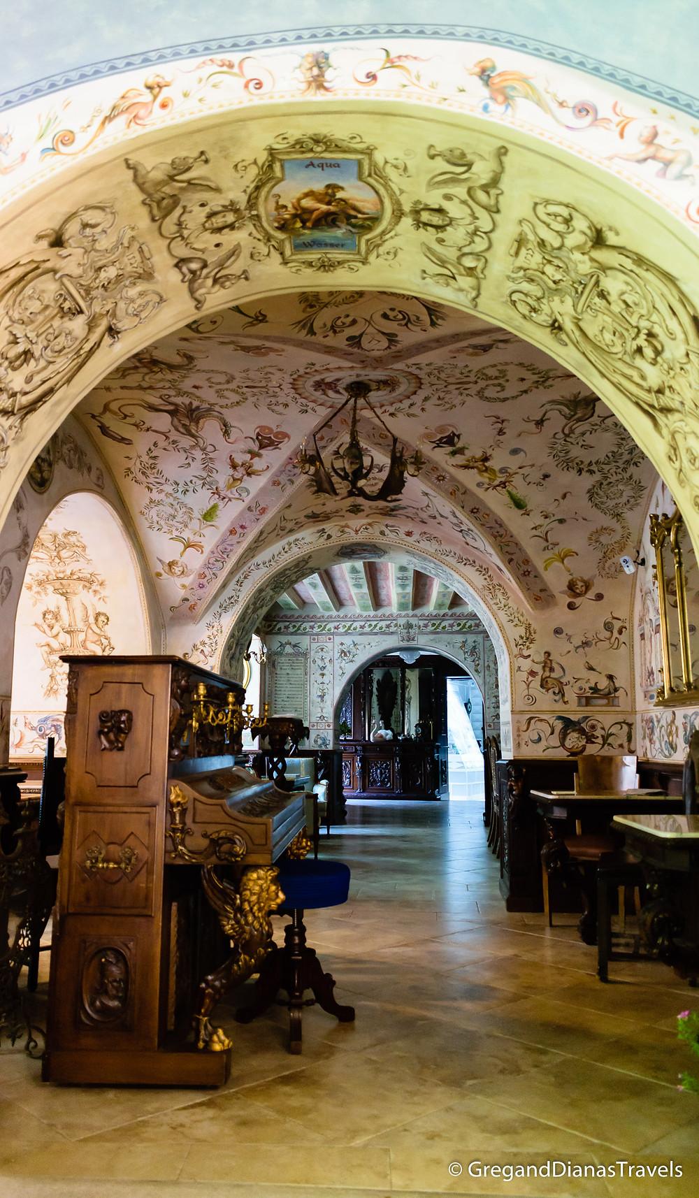 Back room closed for visitors, Kormuth Patisserie Bratislava, Bratislava Slovakia, Travelblog