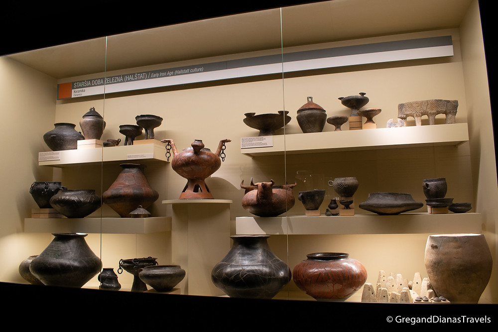 Pottery exhibition in Bratislava City Museum,  Bratislava City Museum, Bratislava Slovakia, Travel blog