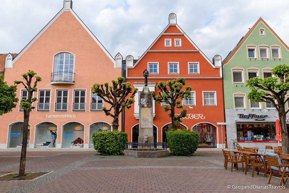 Erding city center, Bavaria Germany, Travelblog Germany, Cityscape Erding