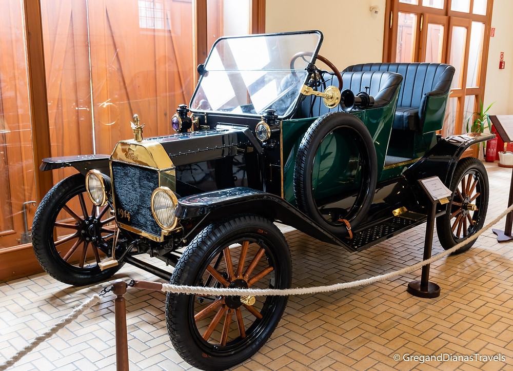 Ford Model T, Coach Museum, Festetics Castle, Keszthely Hungary, Travel blog, Travel blogger, Travel photography