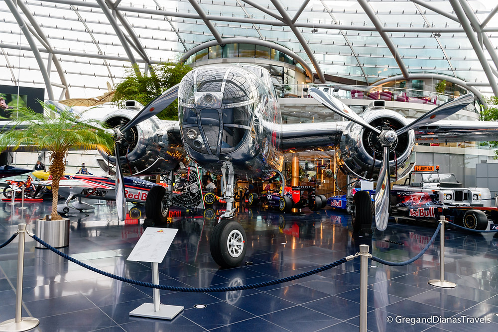 B-25J Mitchell, Salzburg Austria, Travel blog, Travel photography, Hangar-7 Salzburg, Red Bull Hangar-7