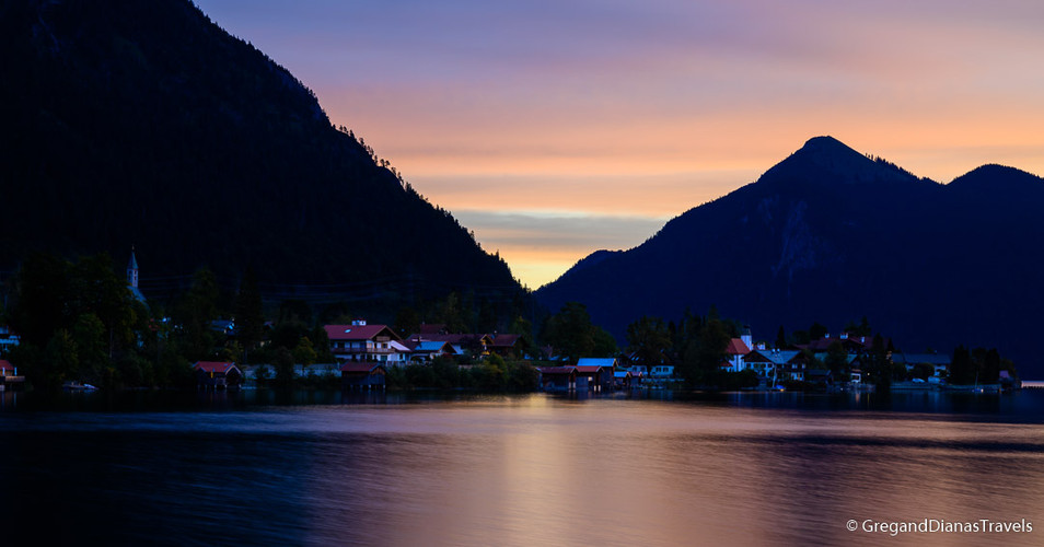 Sunrise at Walchensee