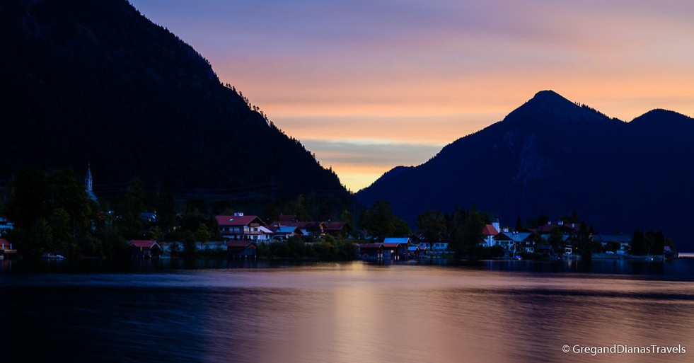 Sunrise at Walchensee