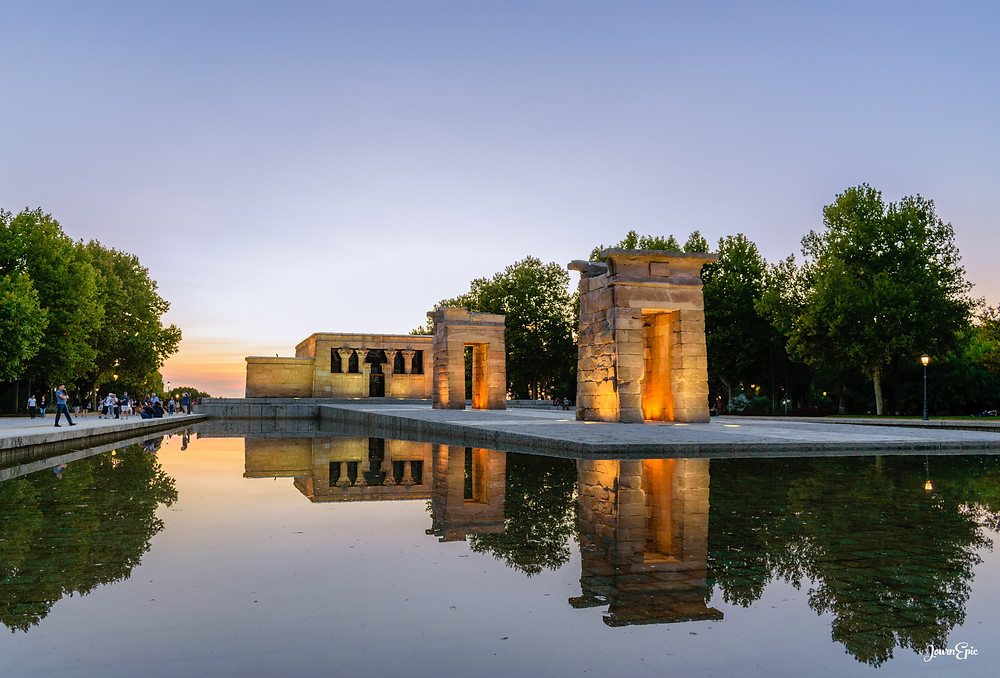 Temple of Debod, Temple of Debod Madrid, things to visit in Madrid, Madrid travel guide, Temple of Debod opening hours, Temple of Debod entrance fee