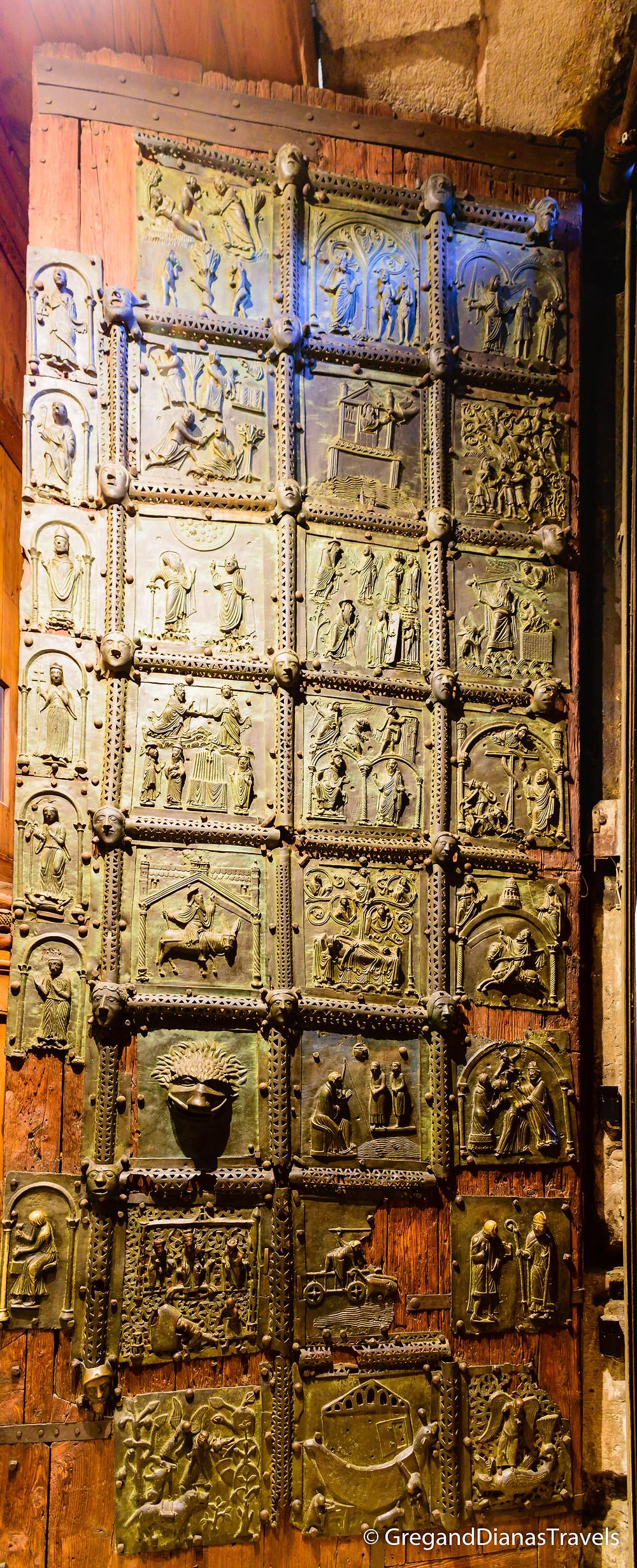 Gate of Basilica of San Zeno Maggiore