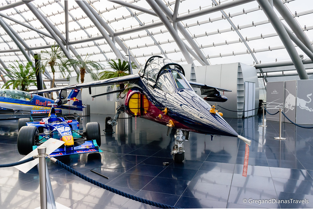 Dassault-Brequest/Dornier Alpha Jet, Salzburg Austria, Travel blog, Travel photography, Hangar-7 Salzburg, Red Bull Hangar-7