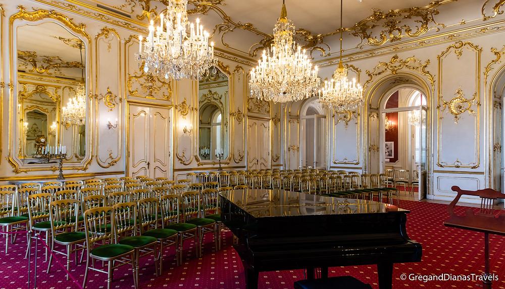 Hall of Mirrors, Festetics Castle, Keszthely Hungary, Travel blog, Travel blogger, Travel photography