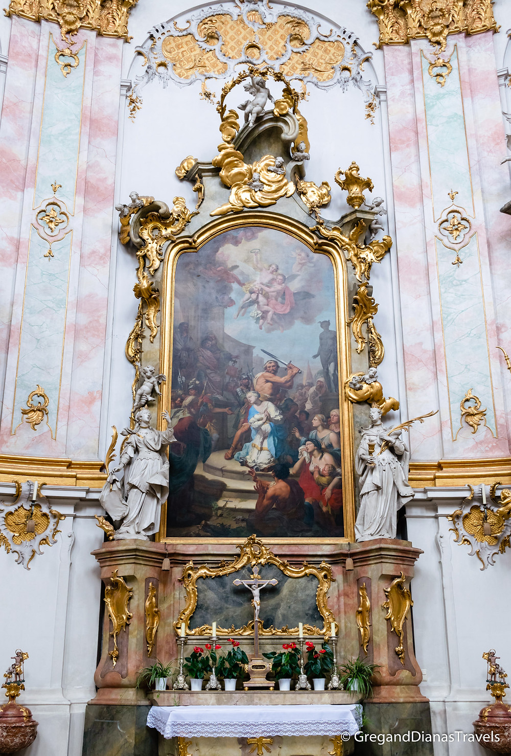Ettal Abbey Church interior, Ettal Abbey, Bavaria Germany, Bayern Deutschland, Travel blog, Travel photography