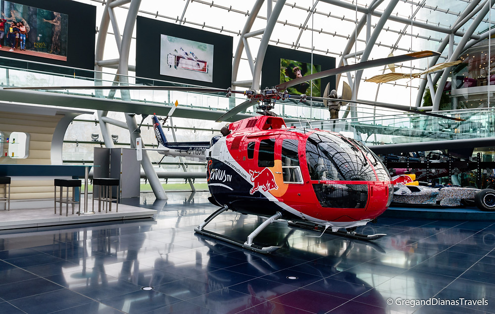 BO 105, BO 105 Helicopter, Salzburg Austria, Travel blog, Travel photography, Hangar-7 Salzburg, Red Bull Hangar-7
