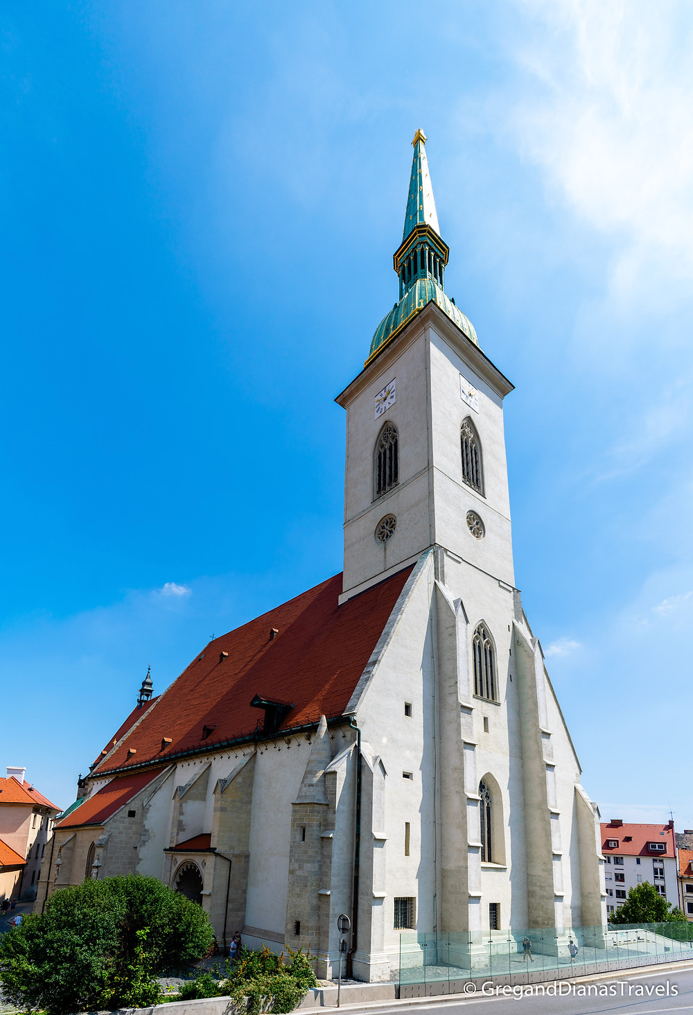 St. Martin´s Cathedral, Bratislava Slovakia, Travel blog, Travel photography