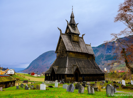 From Munich to Sognefjord – Day 5. Lavik – Hopperstad Stave Church – 240 km