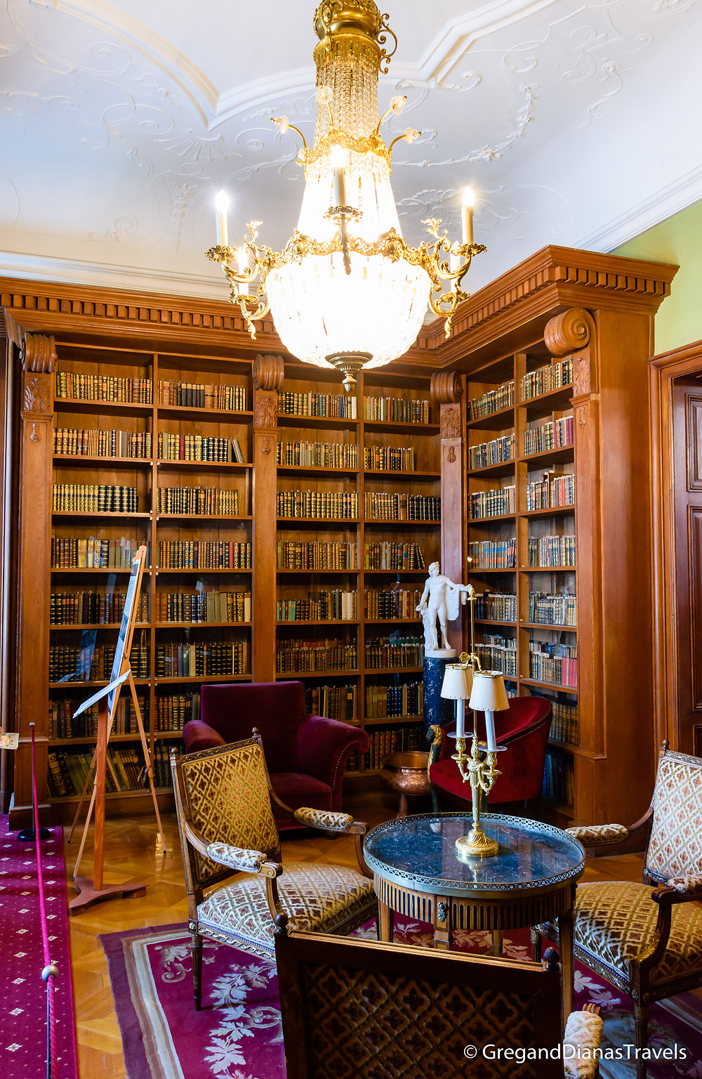 Helikon Library, Festetics Castle, Keszthely Hungary, Travel blog, Travel blogger, Travel photography