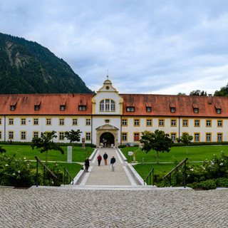 Ettal Abbey in Bavaria