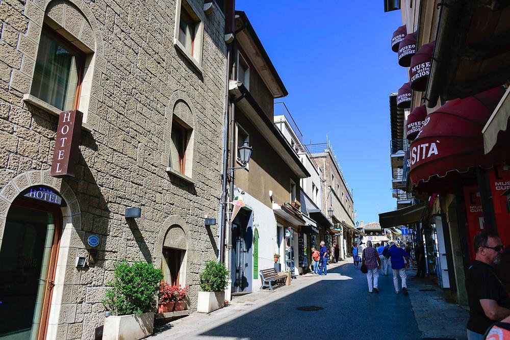 San Marino Old Town