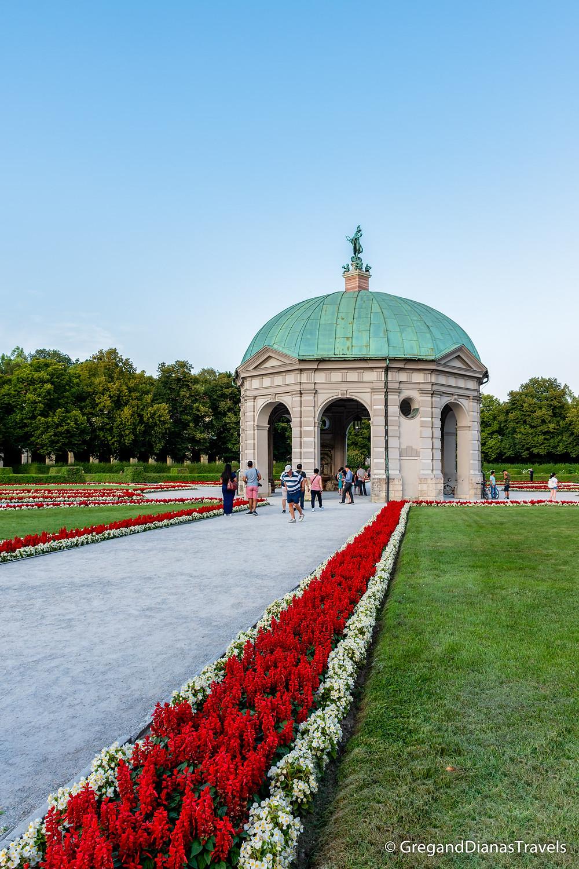 Residenz Park in Munich, Residenz München, Munich Germany, München Deutschland, Travel blog