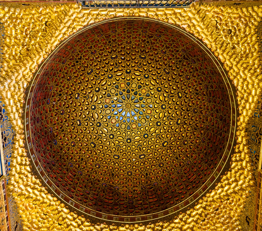 Ceiling in the Hall of Ambassadors
