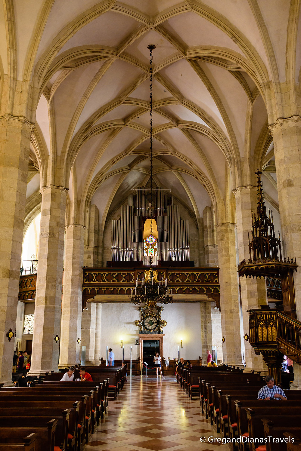 St. Martin´s Cathedral Interior, Bratislava Slovakia, Travel blog, Travel photography