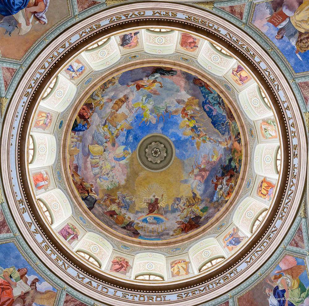 Dome of Cathedral Basilica St. John the Apostle