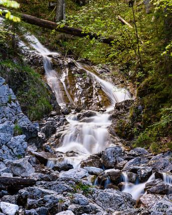 Eibsee Waterfall