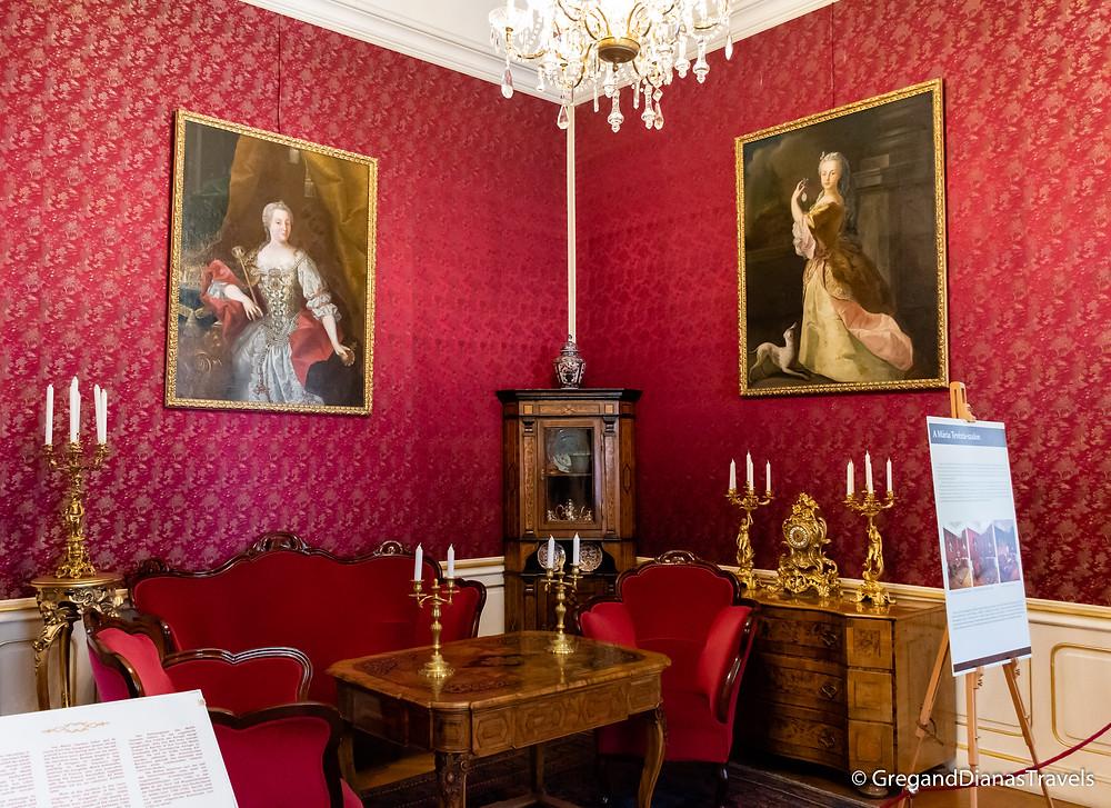 Maria Theresa Salon, Festetics Castle, Keszthely Hungary, Travel blog, Travel blogger, Travel photography