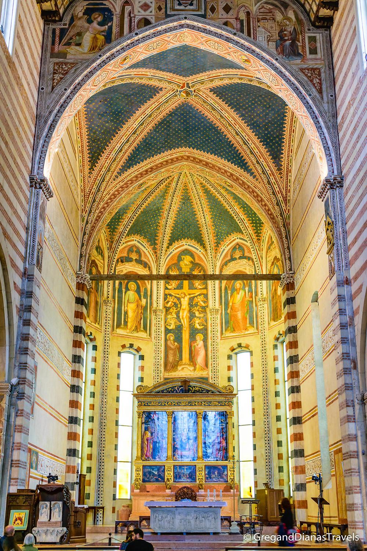 Main Altar of Basilica of San Zeno Maggiore