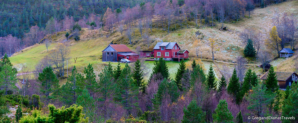 Remote living in Norway, Farmhouse on the mountain, Living in Norway, Norway landscape