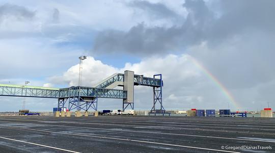 Color Line Terminal Hirtshals, Denmark