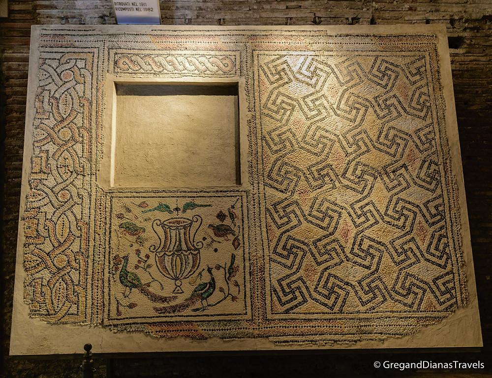 Mosaic in Basilica San Vitale