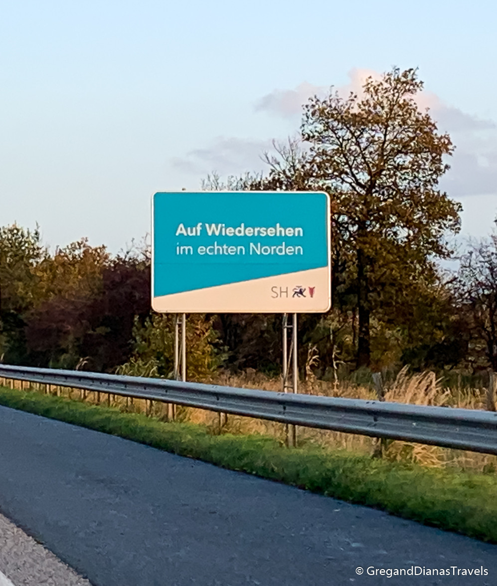 Goodbye Germany, Auf Wiedersehen Deutschland, German Danish border, German highway