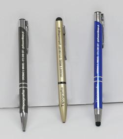 Gravação de canetas