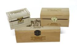 Gravação em caixas madeira