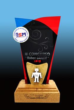 Exemplo troféu personalizado