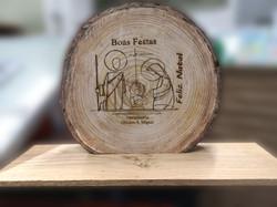 Gravação em madeira 1