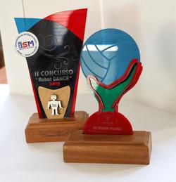 Personalização de troféus