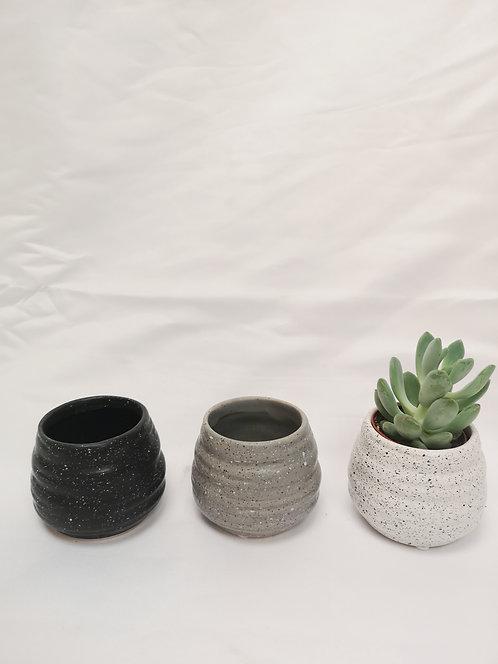 Mini Speckled Pot