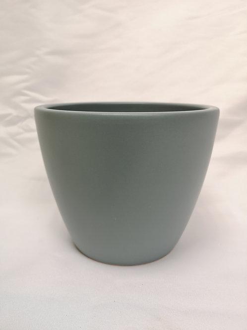 Matt Blue Pot