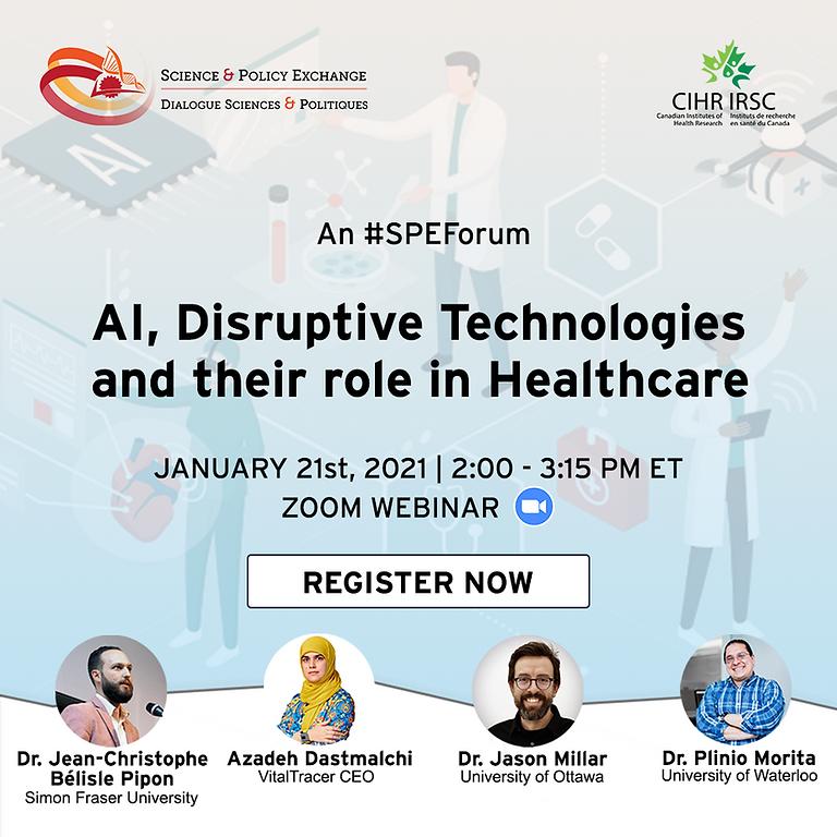AI & Disruptive Technologies in Healthcare