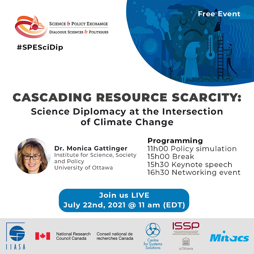 Cascading Resource Scarcity: Science Diplomacy at the Intersection of Climate Change