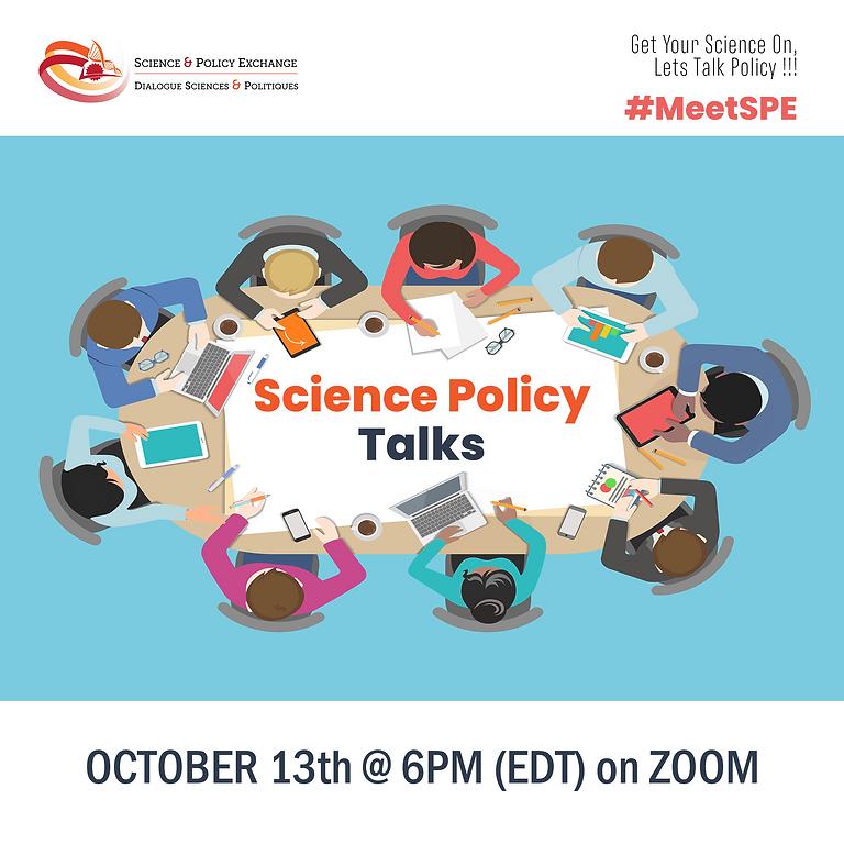 #MeetSPE: Science Policy Talks