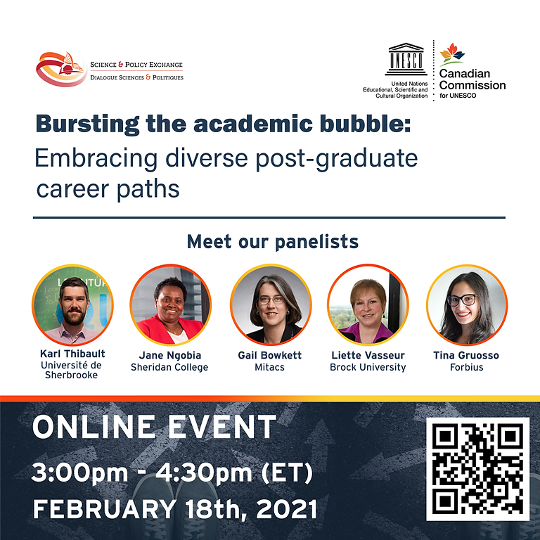 Bursting the academic bubble