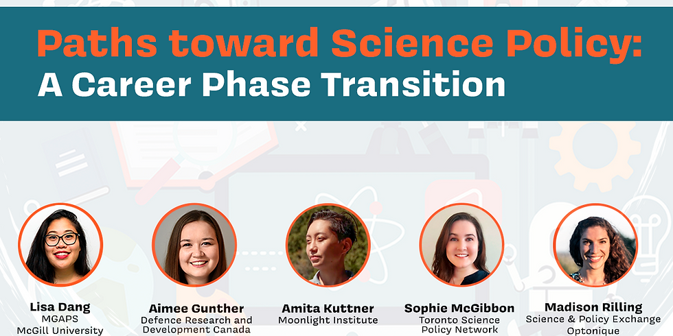 Paths Towards Science Policy: A Career Phase Transition