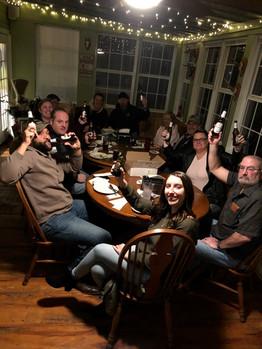 Combat Veterans enjoying a German night with us