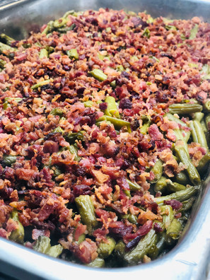 Smothered Green Beans are a favorite around here!