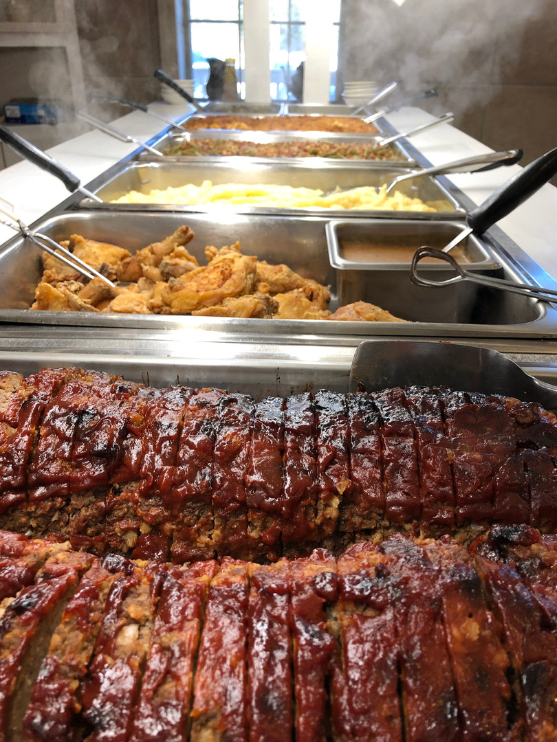 One of our daily lunch buffets