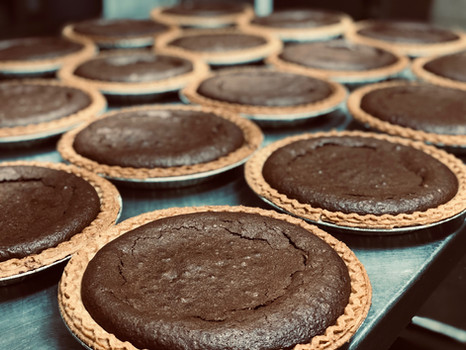 Brownie pies ordered for Christmas