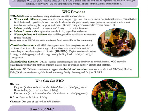 Facts about WIC